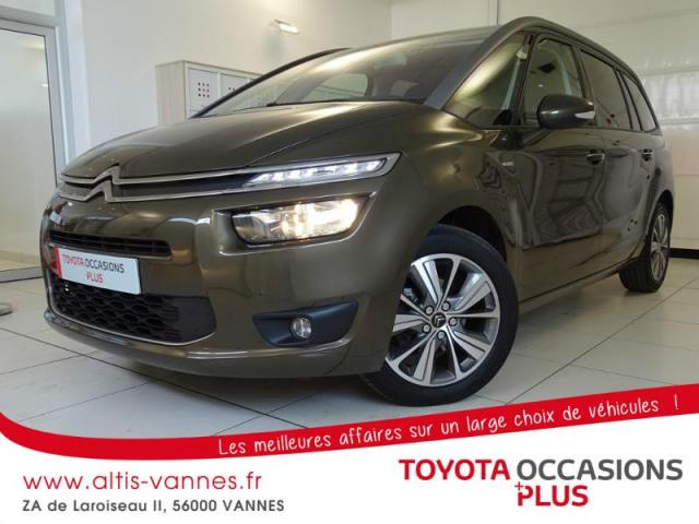 voiture occasion citroen grand c4 picasso e hdi 115ch exclusive 2014 diesel 56000 vannes. Black Bedroom Furniture Sets. Home Design Ideas