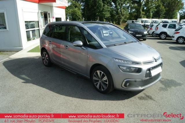 voiture occasion citroen grand c4 picasso puretech 130ch feel s s 2017 essence 56300 pontivy. Black Bedroom Furniture Sets. Home Design Ideas