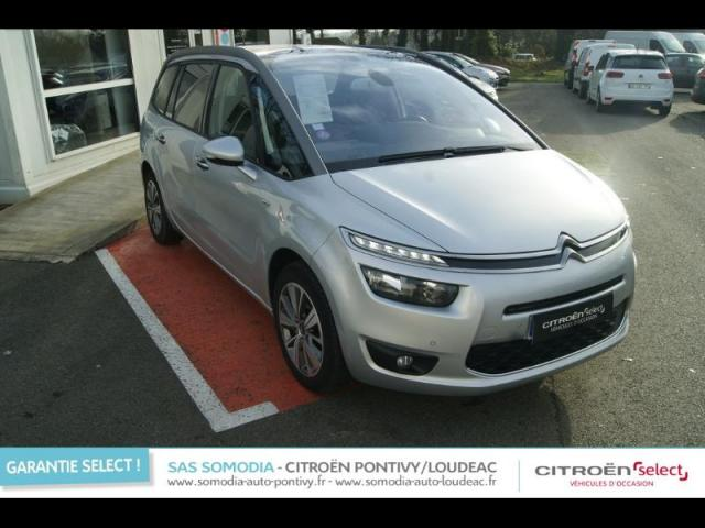 voiture occasion citroen grand c4 picasso thp 155ch exclusive 2014 essence 56300 pontivy. Black Bedroom Furniture Sets. Home Design Ideas