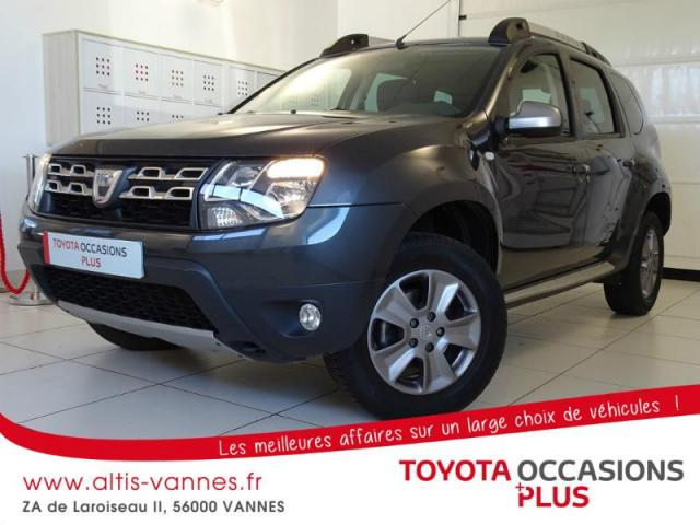 voiture occasion dacia duster 1 2 tce 125ch prestige 4x2 2014 essence 56000 vannes morbihan. Black Bedroom Furniture Sets. Home Design Ideas