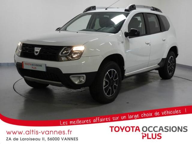 voiture occasion dacia duster 1 5 dci 110ch black touch 4x2 2017 diesel 56000 vannes morbihan. Black Bedroom Furniture Sets. Home Design Ideas