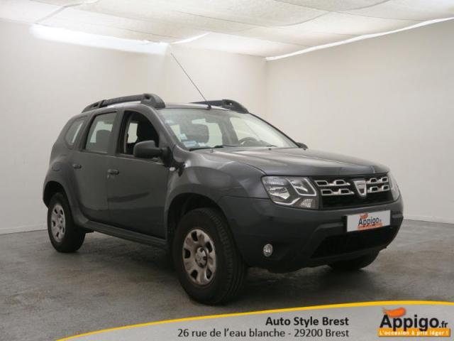 voiture occasion dacia duster 1 5 dci 110ch fap laur ate 4x2 2013 diesel 29200 brest finist re. Black Bedroom Furniture Sets. Home Design Ideas