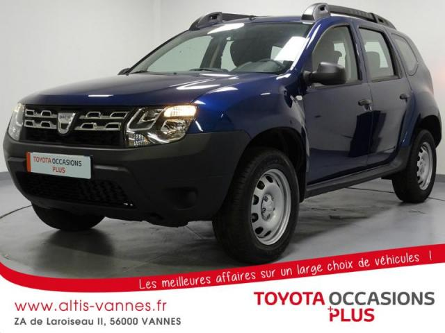 voiture occasion dacia duster 1 6 sce 115ch ambiance 4x2 euro6 2016 essence 56000 vannes. Black Bedroom Furniture Sets. Home Design Ideas