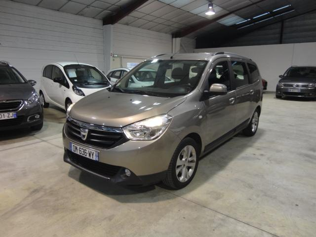 voiture occasion dacia lodgy 1 5 dci 110cv black line 7pl 2014 diesel 56600 lanester morbihan. Black Bedroom Furniture Sets. Home Design Ideas
