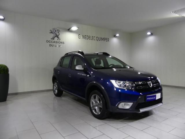 voiture occasion dacia sandero 0 9 tce 90ch stepway easy r 2017 essence 29000 quimper finist re. Black Bedroom Furniture Sets. Home Design Ideas