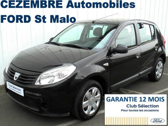 voiture occasion dacia sandero 1 5 dci 75ch silver line 2012 diesel 35400 saint malo ille et. Black Bedroom Furniture Sets. Home Design Ideas