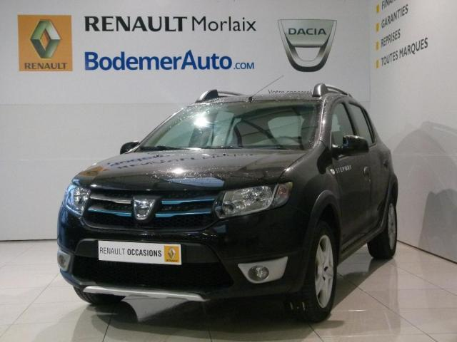 voiture occasion dacia sandero tce 90 stepway prestige. Black Bedroom Furniture Sets. Home Design Ideas