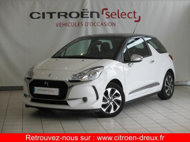 voiture occasion citroen ds3 bluehdi 100ch drive. Black Bedroom Furniture Sets. Home Design Ideas