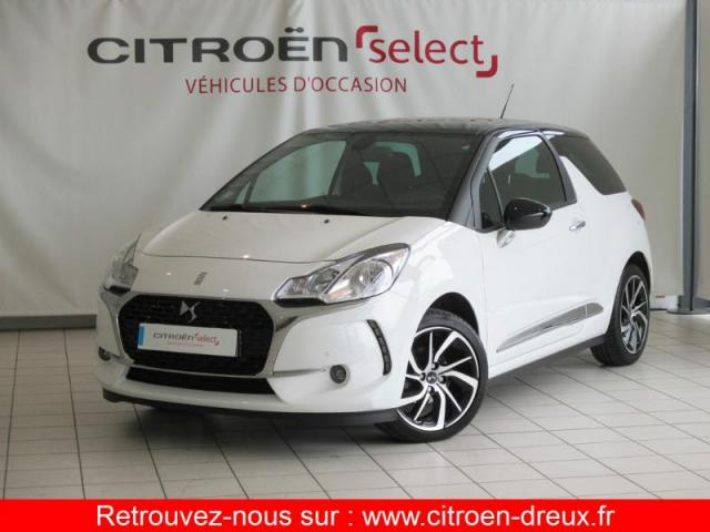 voiture occasion citroen ds3 bluehdi 100ch so chic s s 2016 diesel 28500 vernouillet eure et. Black Bedroom Furniture Sets. Home Design Ideas