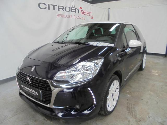 voiture occasion citroen ds3 puretech 110ch so chic s s 2016 essence 27000 vreux eure. Black Bedroom Furniture Sets. Home Design Ideas