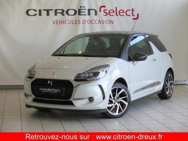 voiture occasion citroen ds3 puretech 110ch sport chic s s eat6 2016 essence 28500 vernouillet. Black Bedroom Furniture Sets. Home Design Ideas