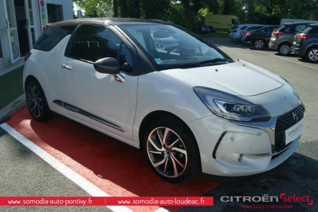 voiture occasion citroen ds3 puretech 110ch sport chic s s eat6 2016 essence 56300 pontivy. Black Bedroom Furniture Sets. Home Design Ideas