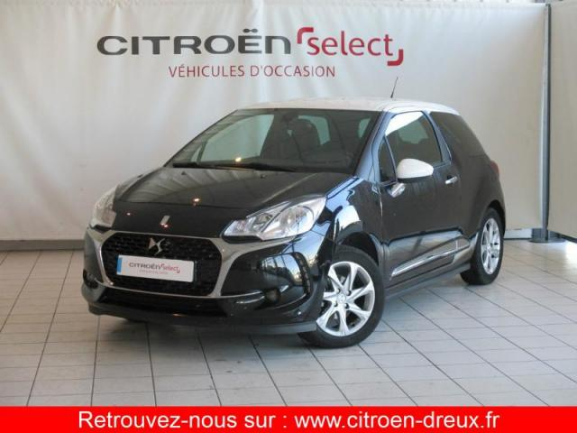 voiture occasion citroen ds3 puretech 82ch so chic 2016 essence 28500 vernouillet eure et loir. Black Bedroom Furniture Sets. Home Design Ideas