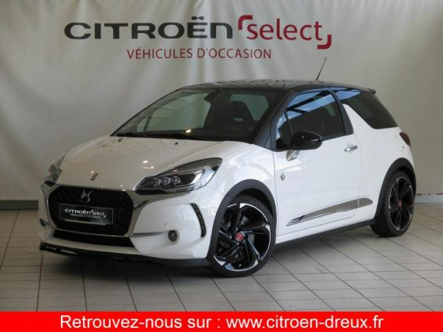 voiture occasion citroen ds3 thp 208ch performance s s 2017 essence 28500 vernouillet eure et. Black Bedroom Furniture Sets. Home Design Ideas