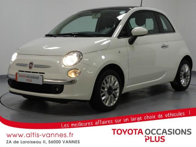 voiture occasion fiat 500 1 2 8v 69ch lounge 2015 essence 56000 vannes morbihan votreautofacile. Black Bedroom Furniture Sets. Home Design Ideas
