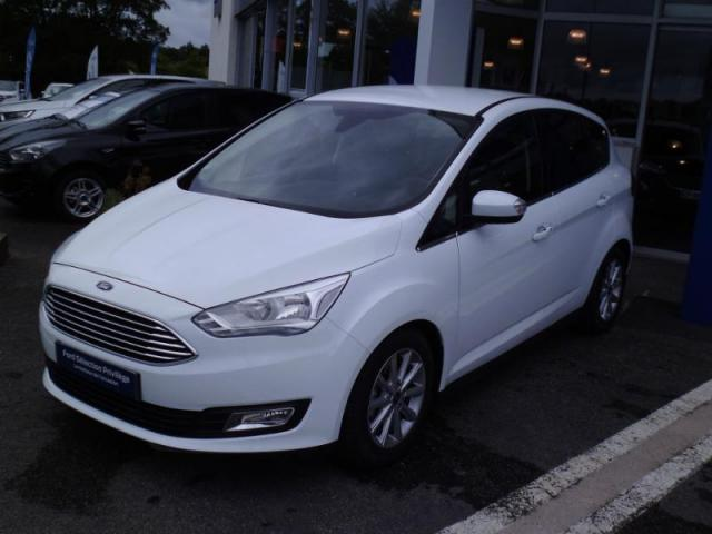 voiture occasion ford c max 1 0 ecoboost 125ch stop start titanium x 2017 essence 56300 pontivy. Black Bedroom Furniture Sets. Home Design Ideas