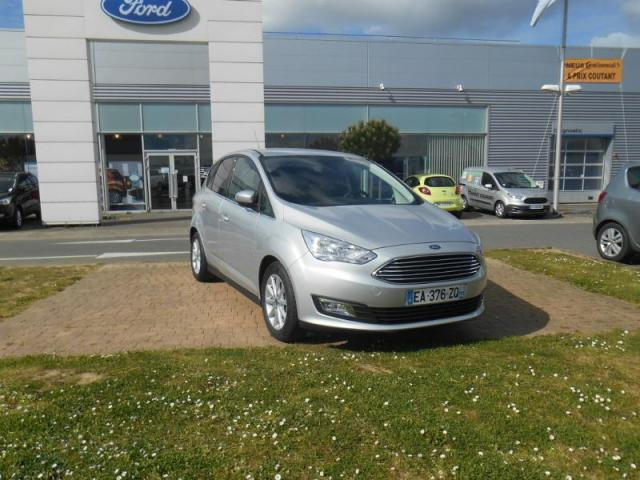 voiture occasion ford c max 1 5 tdci 95ch titanium s s 2016 diesel 56000 vannes morbihan. Black Bedroom Furniture Sets. Home Design Ideas