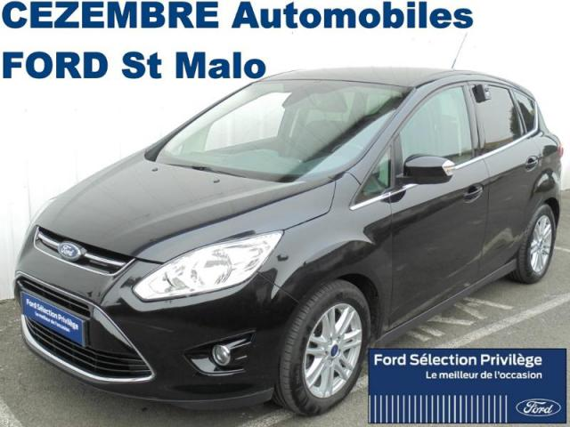 voiture occasion ford c max 1 6 tdci 115ch titanium 2013 diesel 35400 saint malo ille et vilaine. Black Bedroom Furniture Sets. Home Design Ideas