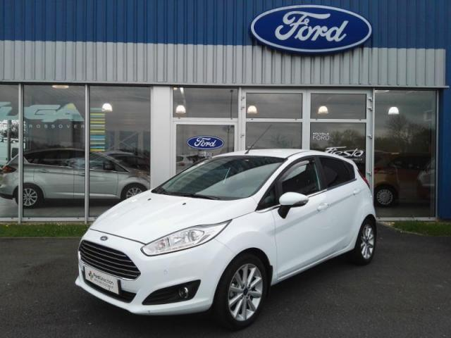 voiture occasion ford fiesta 1 0 ecoboost 100ch stop start titanium 5p 2016 essence 27300 bernay. Black Bedroom Furniture Sets. Home Design Ideas