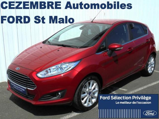 voiture occasion ford fiesta 1 0 ess100ch s s titanium 5p 2016 essence 35400 saint malo ille et. Black Bedroom Furniture Sets. Home Design Ideas