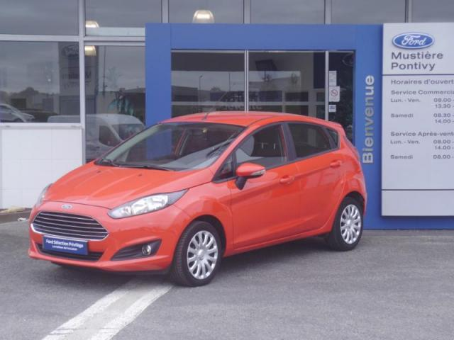 voiture occasion ford fiesta 82ch edition 5p 2015 essence 56300 pontivy morbihan. Black Bedroom Furniture Sets. Home Design Ideas