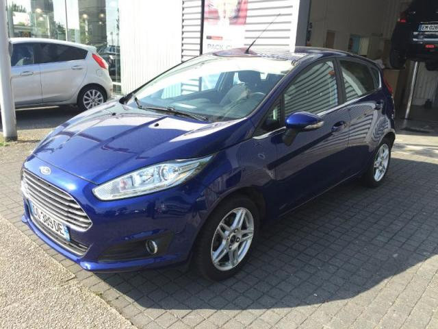 voiture occasion ford fiesta 1 6 tdci 95ch fap titanium 5p 2015 diesel 44600 saint nazaire loire. Black Bedroom Furniture Sets. Home Design Ideas