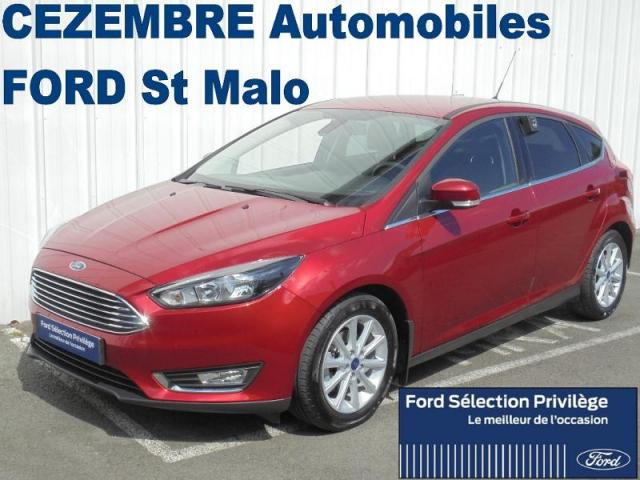 voiture occasion ford focus 1 5 tdci 120ch s s titanium 2016 diesel 35400 saint malo ille et. Black Bedroom Furniture Sets. Home Design Ideas