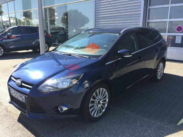 voiture occasion ford focus sw 1 6 tdci 115ch fap titanium s s 2012 diesel 44600 saint nazaire. Black Bedroom Furniture Sets. Home Design Ideas