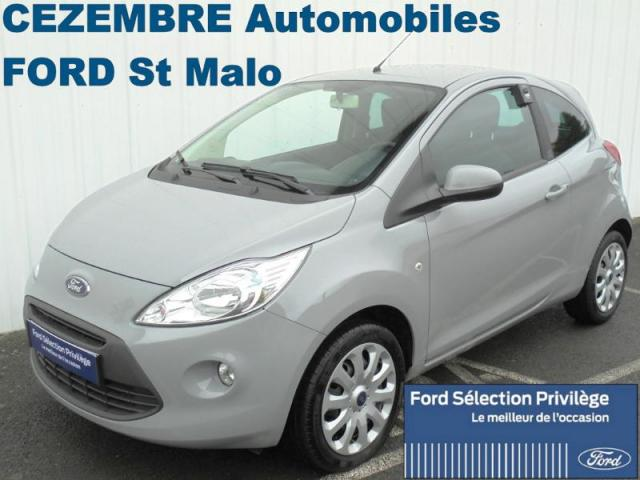voiture occasion ford ka 1 2 ess 69ch s s titanium 2016 essence 35400 saint malo ille et vilaine. Black Bedroom Furniture Sets. Home Design Ideas