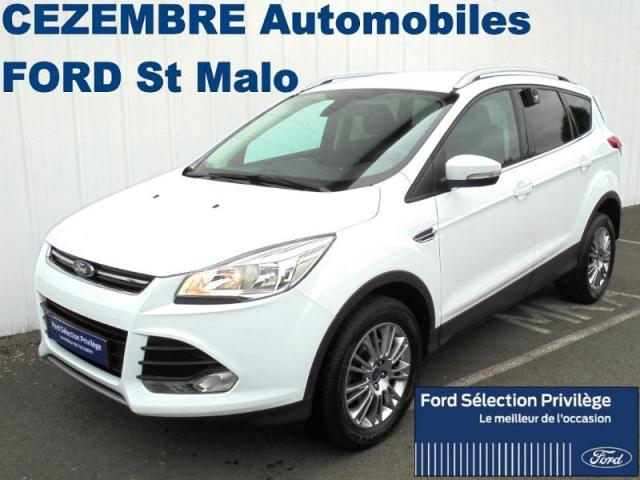 voiture occasion ford kuga 2 0 tdci 115ch titanium 2014 diesel 35400 saint malo ille et vilaine. Black Bedroom Furniture Sets. Home Design Ideas