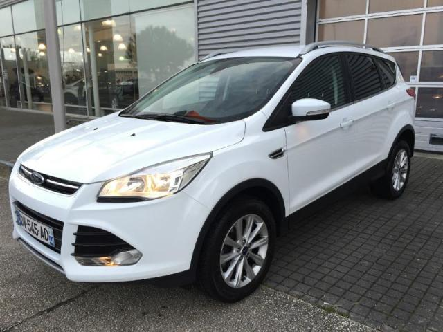 voiture occasion ford kuga 2 0 tdci 120ch titanium 2015 diesel 44600 saint nazaire loire. Black Bedroom Furniture Sets. Home Design Ideas