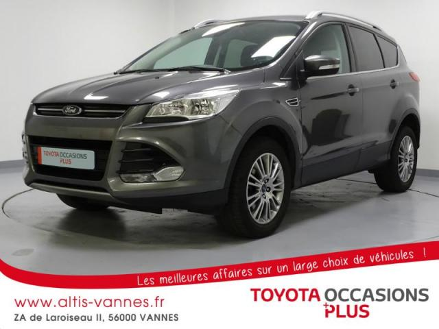 voiture occasion ford kuga 2 0 tdci 140ch fap titanium 2014 diesel 56000 vannes morbihan. Black Bedroom Furniture Sets. Home Design Ideas