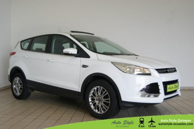 voiture occasion ford kuga 2 0 tdci 140ch fap titanium 2014 diesel 29000 quimper finist re. Black Bedroom Furniture Sets. Home Design Ideas