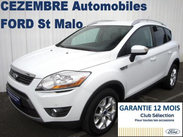 voiture occasion ford kuga 2 0 tdci 140ch trend 4x2 2012 diesel 35400 saint malo ille et vilaine. Black Bedroom Furniture Sets. Home Design Ideas