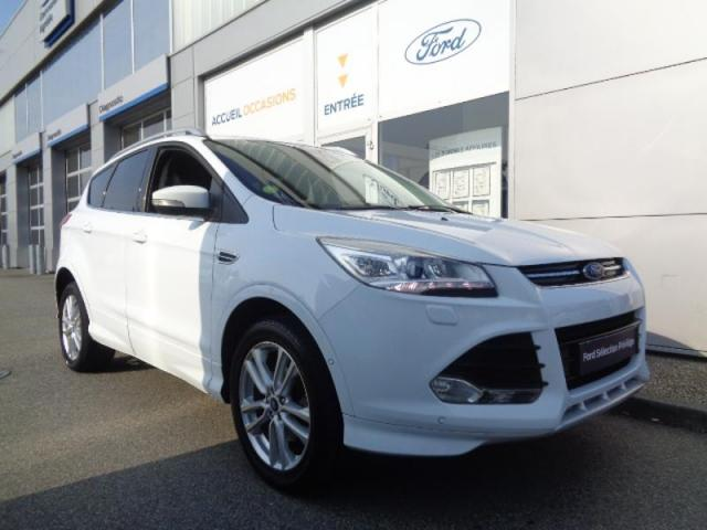 voiture occasion ford kuga 2 0 tdci 150ch sport platinium 4x4 powershift 2016 diesel 35510. Black Bedroom Furniture Sets. Home Design Ideas