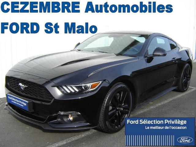 voiture occasion ford mustang 2 3 ecoboost 317ch 2016 essence 35400 saint malo ille et vilaine. Black Bedroom Furniture Sets. Home Design Ideas