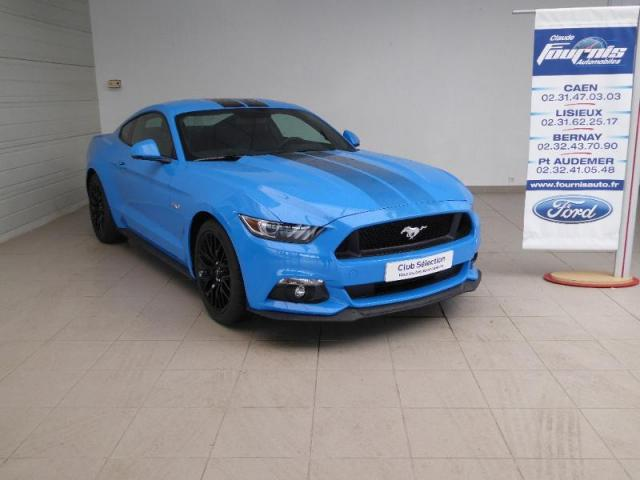 voiture occasion ford mustang 5 0 v8 421ch gt 2018 essence 14200 h rouville saint clair calvados. Black Bedroom Furniture Sets. Home Design Ideas