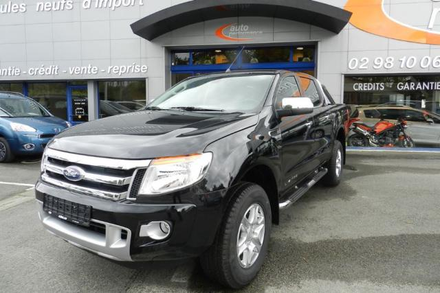 voiture occasion ford ranger 3 2 tdci 200 double limited 4x4 bv6 automatique 2016 diesel 29000. Black Bedroom Furniture Sets. Home Design Ideas