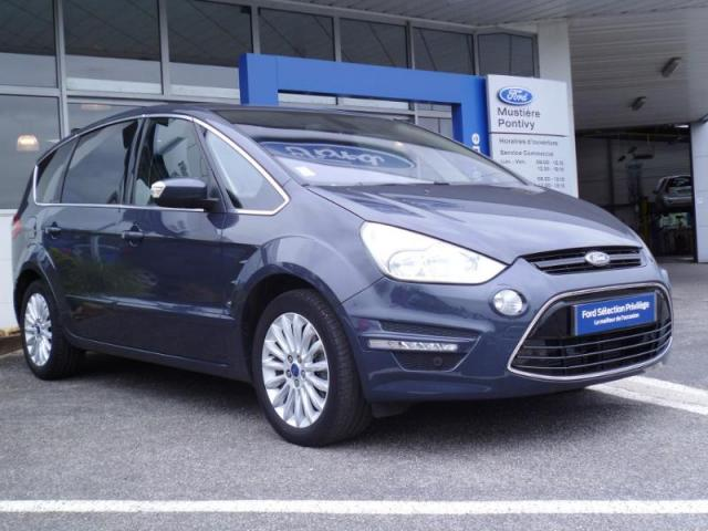 voiture occasion ford s max 2 0 tdci 140ch fap titanium gps 7 places 2015 diesel 56300 pontivy. Black Bedroom Furniture Sets. Home Design Ideas