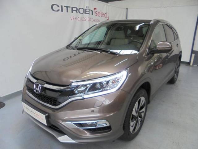 voiture occasion honda cr v 1 6 i dtec 160ch exclusive navi 4wd at 2016 diesel 27000 vreux eure. Black Bedroom Furniture Sets. Home Design Ideas
