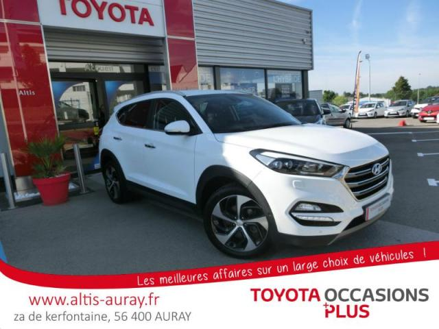 voiture occasion hyundai tucson 1 7 crdi 141ch executive 2wd dct 7 2016 diesel 56400 pluneret. Black Bedroom Furniture Sets. Home Design Ideas