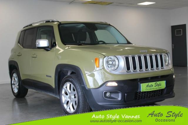 voiture occasion jeep renegade 1 6 multijet s s 120ch limited 2015 diesel 56450 theix morbihan. Black Bedroom Furniture Sets. Home Design Ideas