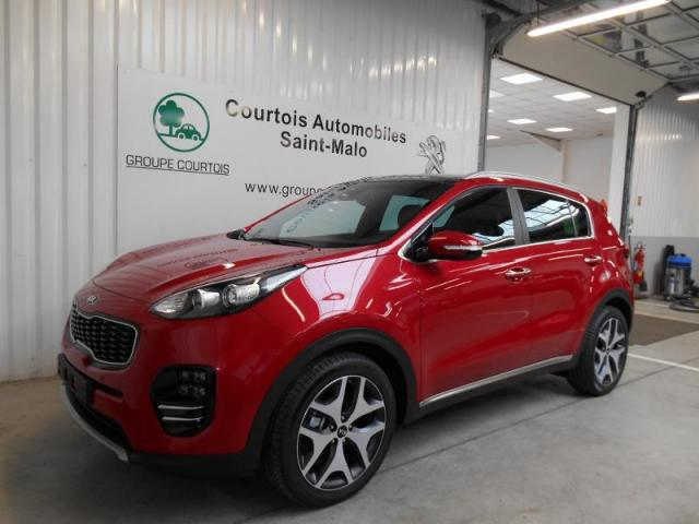 voiture occasion kia sportage 1 7 crdi 141ch isg gt line. Black Bedroom Furniture Sets. Home Design Ideas