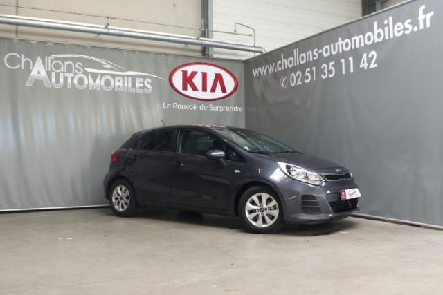 voiture occasion kia rio 1 2 85ch active 5p 2016 essence 85300 challans vend e votreautofacile. Black Bedroom Furniture Sets. Home Design Ideas