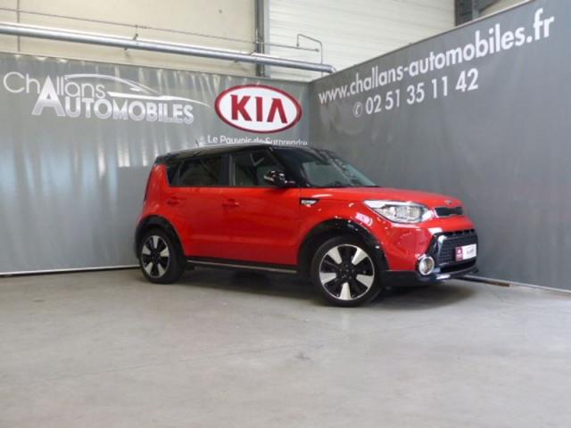 voiture occasion kia soul 1 6 crdi 136ch l 2016 diesel. Black Bedroom Furniture Sets. Home Design Ideas