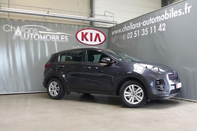 voiture occasion kia sportage 1 7 crdi 115ch isg active. Black Bedroom Furniture Sets. Home Design Ideas