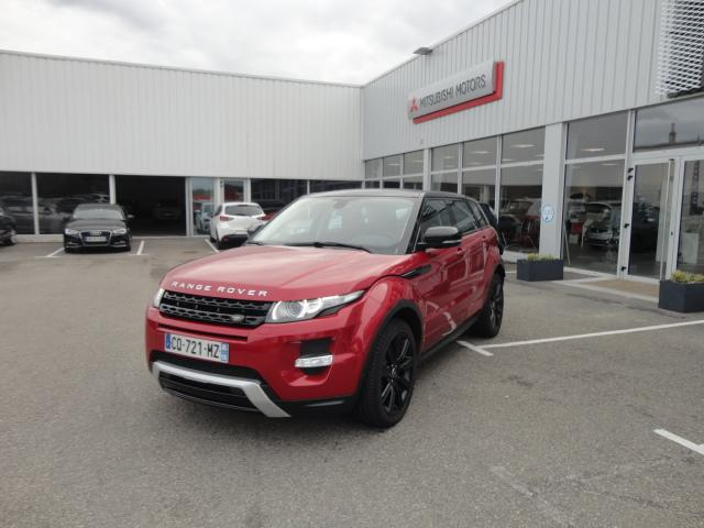 voiture occasion land rover range rover evoque 2 2 ed4 dynamique 4x2 2013 diesel 56600 lanester. Black Bedroom Furniture Sets. Home Design Ideas