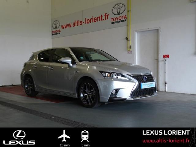 voiture occasion lexus ct 200h f sport 2016 hybride 56600 lanester morbihan votreautofacile. Black Bedroom Furniture Sets. Home Design Ideas