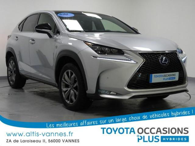 voiture occasion lexus nx 300h 4wd f sport 2015 hybride 56000 vannes morbihan votreautofacile. Black Bedroom Furniture Sets. Home Design Ideas