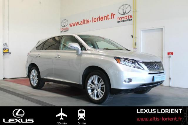 voiture occasion lexus rx 450h pack pr sident techno dynamic 2009 hybride 56600 lanester. Black Bedroom Furniture Sets. Home Design Ideas